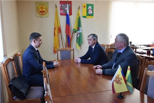 Руководитель Госветслужбы Чувашии посетил Аликовский район