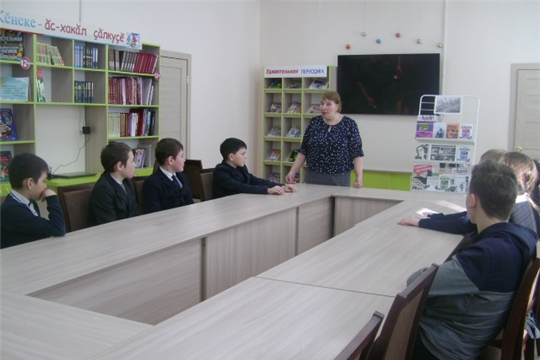 В Аликовской детской библиотеке в рамках акции «Сообщи, где торгуют смертью» прошел информационный час «Мы против наркотиков»