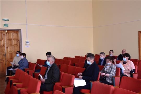 Состоялось VII очередное заседание Собрания депутатов Аликовского района VII созыва