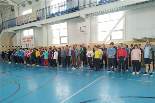 Определились победители соревнований по волейболу среди работников образовательных учреждений Аликовского района