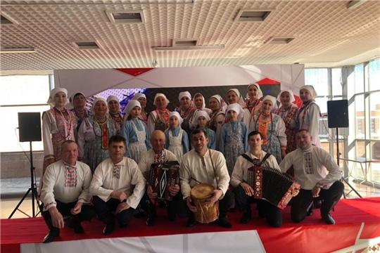 26-27 марта состоялся Межрегиональный фестиваль-конкурс фольклора «Чăваш ахах-мерченĕ» («Чувашские жемчужины»)