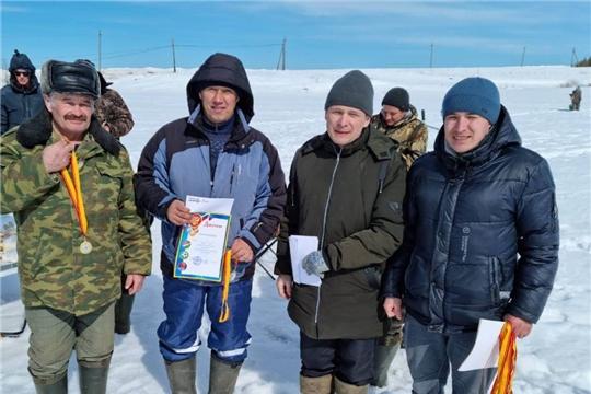 Зимняя рыбалка на спартакиаде работников образовательных учреждений района