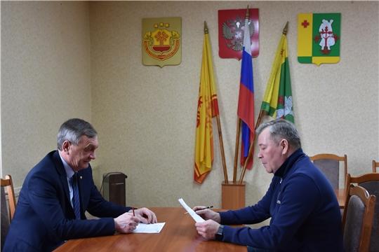 Аликовский район с рабочим визитом посетил депутат Государственной Думы РФ Николай Малов