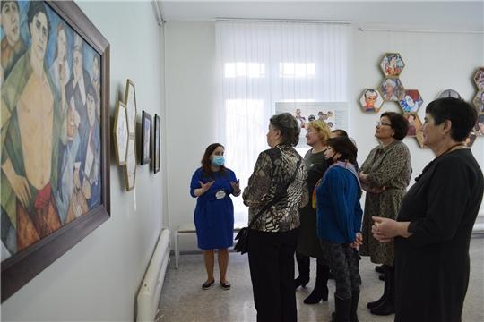 Жители Аликовского района — активные участники проекта «Арт-досуг элегантного возраста» Культурно-выставочного центра «Радуга»