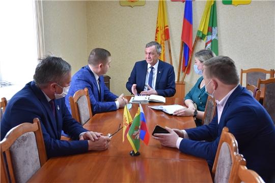 Министр здравоохранения Чувашии Владимир Степанов посетил Аликовский район