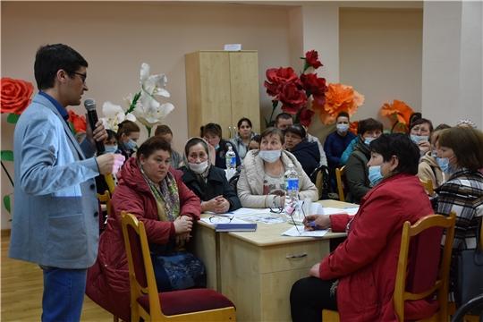 Состоялся первый этап обучения общественных наблюдателей Аликовского района