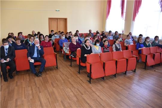 В Аликовском районе прошел обучающий семинар с членами ТИК и председателями УИК