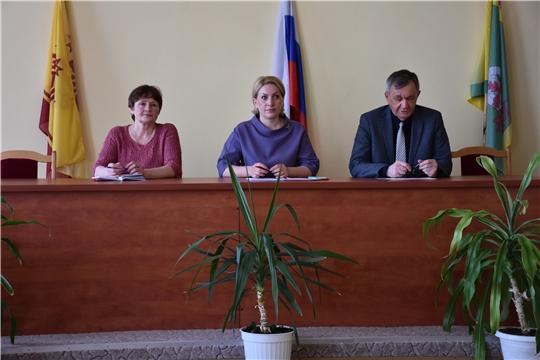 Руководитель Госслужбы Чувашии по конкурентной политике и тарифам Надежда Колебанова посетила с рабочим визитом Аликовский район