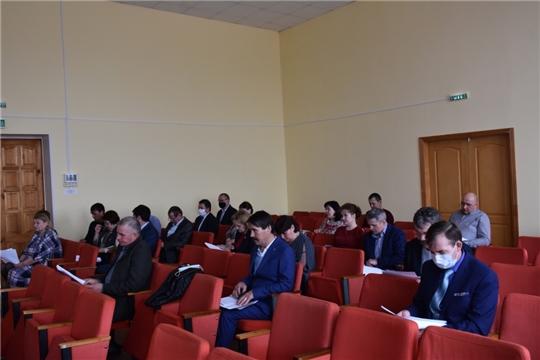Состоялось ѴІІІ очередное заседание Собрания депутатов Аликовского района VII созыва