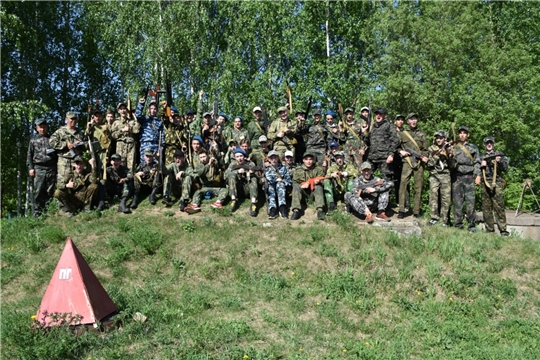 В Аликовском районе прошли учебные сборы с юношами 10-х классов