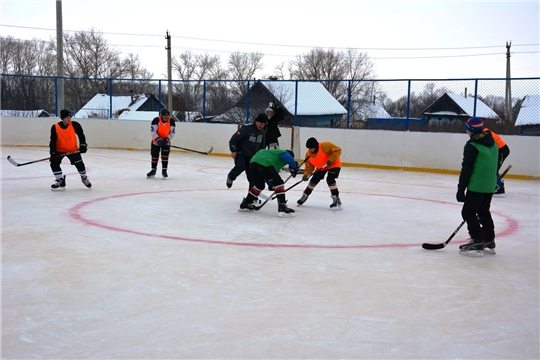 Хоккейный турнир в честь престольного праздника