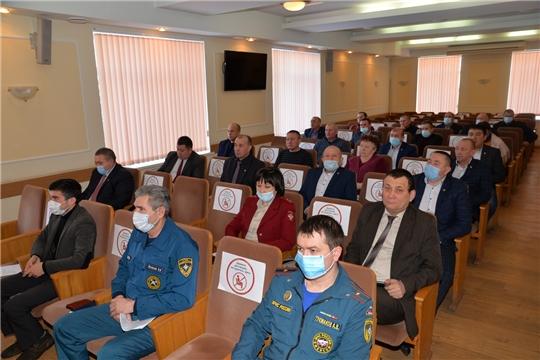 Внеочередное заседание районной комиссии по чрезвычайной ситуации и обеспечению пожарной безопасности