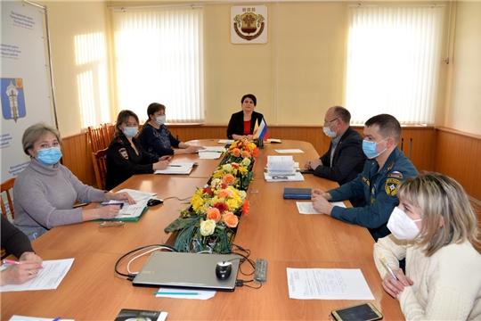 Первое заседание комиссии по делам несовершеннолетних и защите их прав администрации Батыревского района