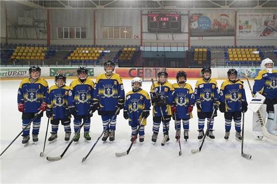 Команда «Олимп»- призер финальных игр республиканских соревнований юных хоккеистов «Золотая шайба»