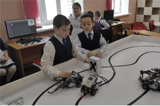 Открытие Года науки и технологий в Батыревской СОШ №1