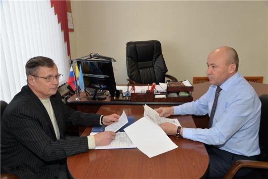 Рабочая встреча с председателем Общественного совета района