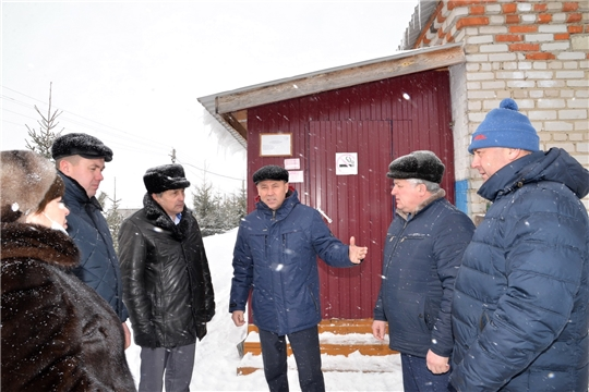 Рабочая поездка главы администрации района в Д.Островское сельское поселение