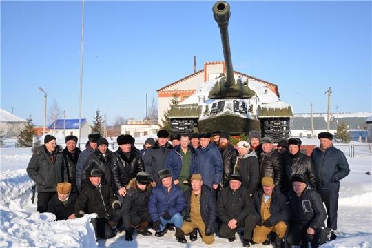 Митинг, в честь Дня памяти о россиянах, исполнявших служебный долг за пределами Отечества