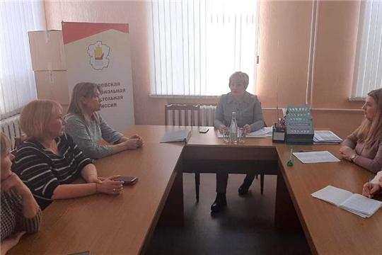 Заседание Батыревской ТИК