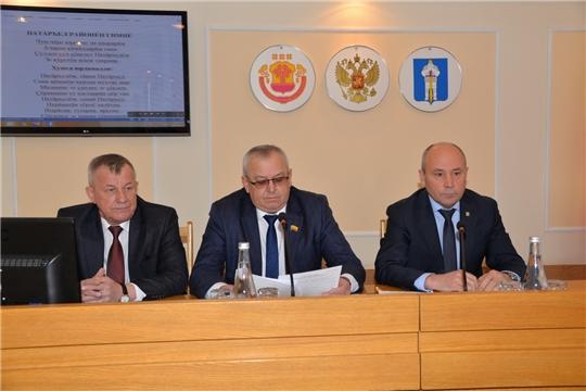 Заседание Собрания депутатов Батыревского района