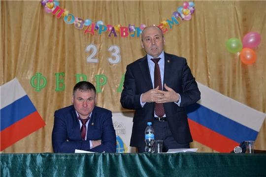 Р.Селиванов принял участие на собрании граждан с.Н.Ахпердино
