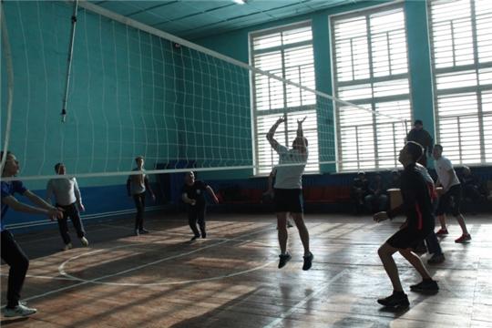 Традиционный волейбольный турнир в память участника боевых действий в Чеченской Республике Валерия Албутова