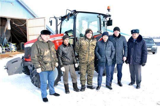 Приобретение новой техники и оборудований - одна из главных направлений развития хозяйств Батыревского района