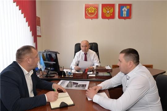 Рабочая встреча главы муниципального образования