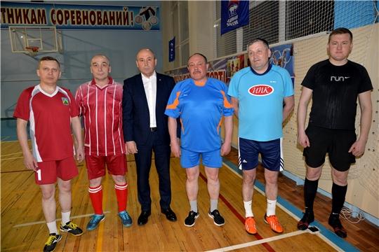 Товарищеская встреча по мини- футболу