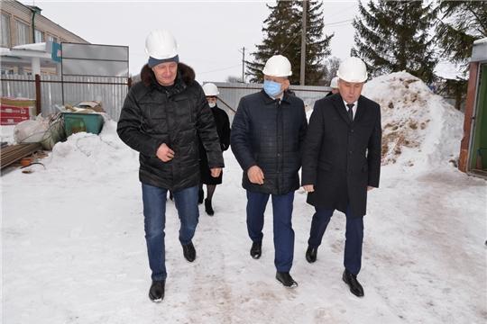 Рабочая поездка заместителя министра образования и молодежной политики в Батыревский район