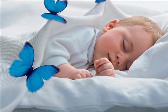 Ибрагим - 50-ый новорожденный малыш в Батыревском районе в 2021 году