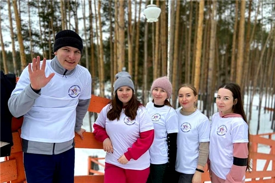 Совет молодых педагогов района принял участие в республиканском спортивном фестивале Советов работающей молодёжи Чувашской Республики «Весенний десант»
