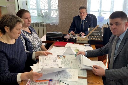 Выездное заседание межведомственной комиссии проведено на территории Большечеменевского сельского поселения
