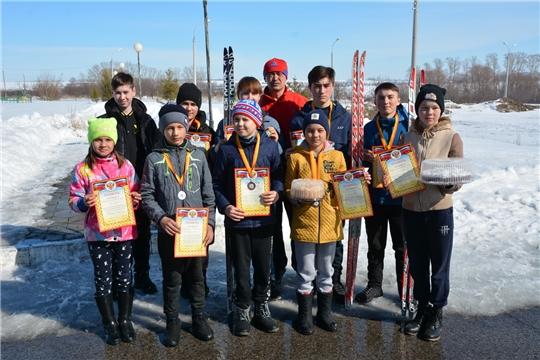 Чемпионат и первенство района по лыжной эстафете в рамках закрытия зимнего спортивного сезона
