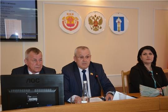 Очередное седьмое заседание Собрания депутатов Батыревского района