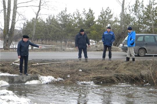 Паводковая обстановка по состоянию на 3 апреля