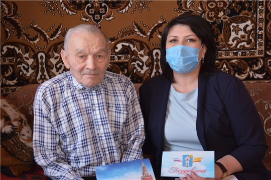 90 летие отмечает труженик тыла, ветеран труда, житель д.Кокшаново Вениамин Сергеевич Ергунов