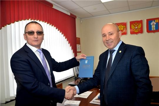 Батыревский район посетил министр физической культуры и спорта Чувашской Республики В.Петров