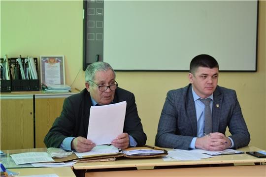 Выездное заседание Союза ветеранов АПК Батыревского района.