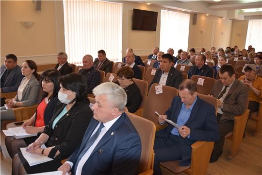 Расширенное совещание главы администрации Батыревского района