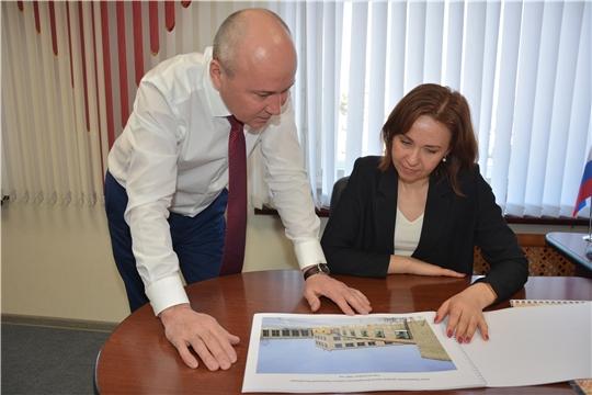 Министр труда и социальной защиты Чувашской Республики Алена Елизарова с рабочим визитом посетила Батыревский район