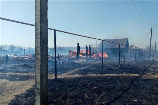 Сжигание мусора и сухой травы может привести к беде!