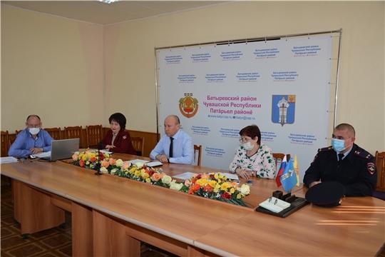 Очередное заседание районного Оперативного штаба по предупреждению распространения коронавирусной инфекции.