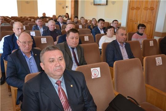 Совещание с главами сельских поселений Батыревского района