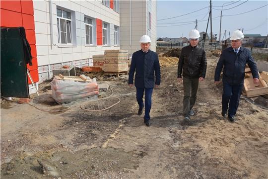 Инспектирование строительных и ремонтных работ объектов социальной сферы Батыревского района