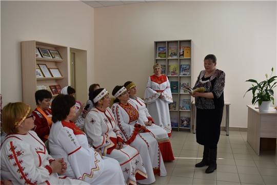 I районный творческий фестиваль, посвященный Дню чувашского языка  «Созвездие талантов»
