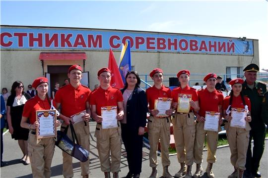 В Батыревском районе завершены юнармейские финальные игры «Зарница» и «Орленок»