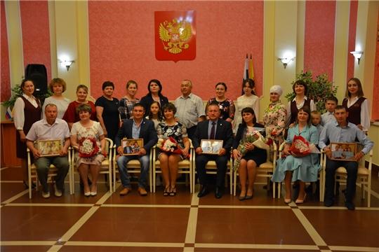 «Моя семья – надежный крепкий тыл» -празднование Международного дня семьи во Дворце бракосочетания Батыревского района