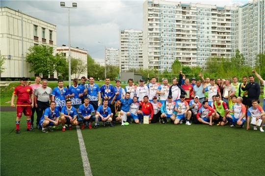 Команда Батыревского района – призер спортивного праздника чувашского землячества в г.Москва
