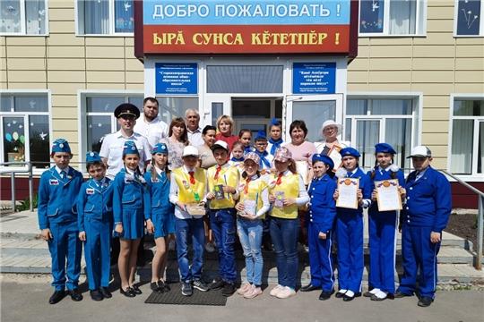 Состоялся конкурс юных инспекторов движения «Безопасное колесо»